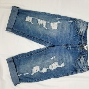 JEAN'S SHORTS DISTRESSED